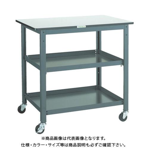 【直送品】 TRUSCO WHT型作業台補助テーブルワゴン 900X600XH900 WHT-6090H