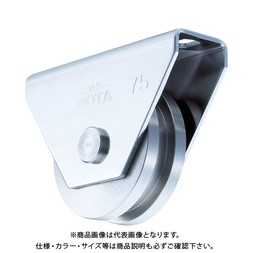 ヨコヅナ ロタ・ステン重量戸車 110mm H型 WBS-1106