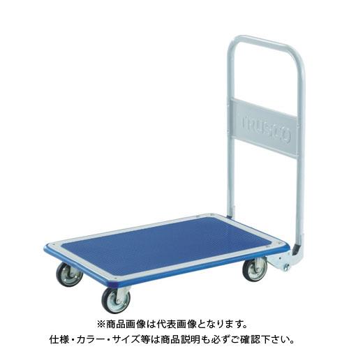 【個別送料1000円】【直送品】TRUSCO プレス製台車 ドンキーカート 折りたたみ式ワイドハンドル915×615 WD300N