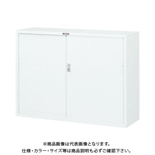 【個別送料2000円】【直送品】TRUSCO スタンダード書庫(D400) スチール引違 1200XH880 W W304D