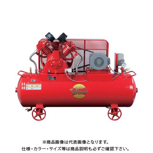 【直送品】富士 汎用空冷二段圧縮コンプレッサ 60Hz W-35PMT-6