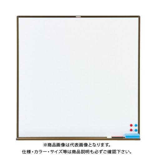 【運賃見積り】【直送品】TRUSCO スチール製ホワイトボード 白暗線 白 900X900 WGH33SA-W