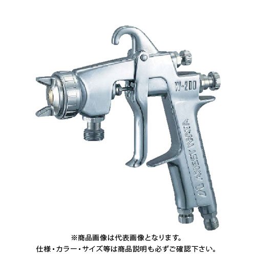 アネスト岩田 大形スプレーガン(圧送式) ノズル口径 Φ1.2 W-200-122H