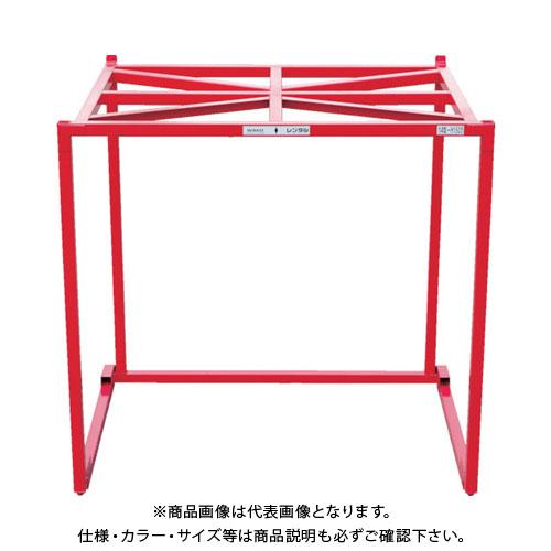 【運賃見積り】【直送品】 ワコー 逆ネスティングボックス クロスタイプ WGN-X1415 WGN-X1415