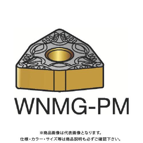 サンドビック T-Max P 旋削用ネガ・チップ 4235 10個 WNMG080412-PM:4235