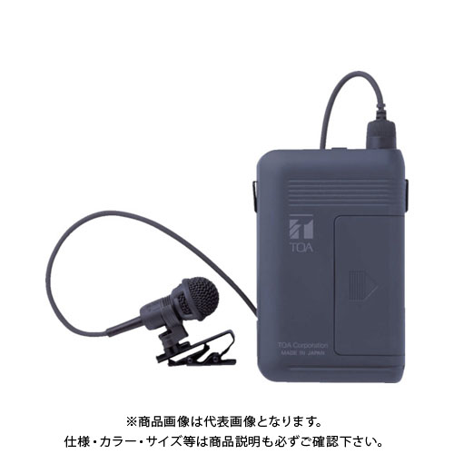 【直送品】 TOA ワイヤレスマイク(タイピン型) WM-1320