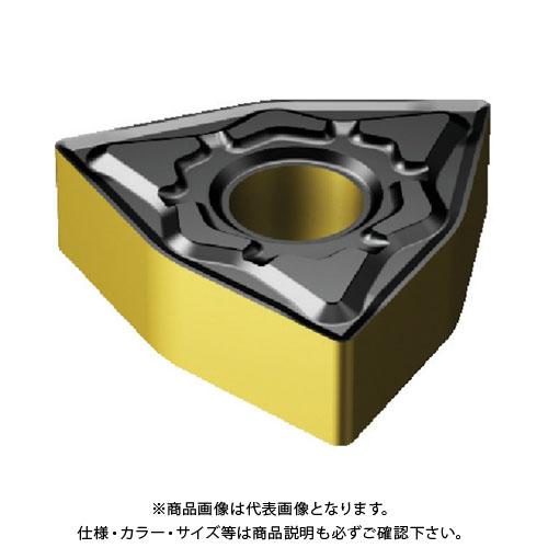サンドビック 一般旋削用チップCOAT 3005 10個 WNMG 08 04 04-KF:3005