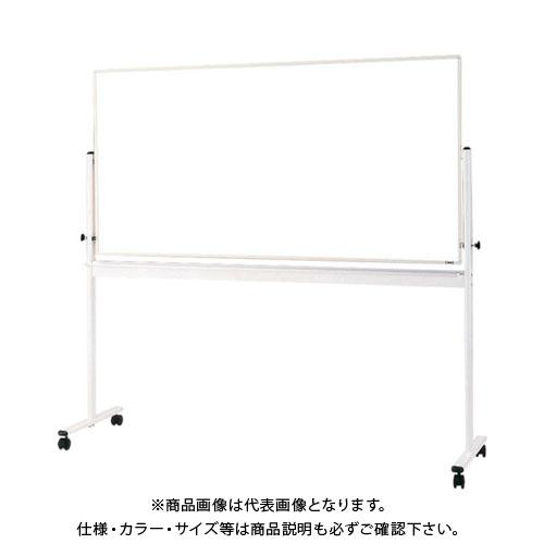 【直送品】TRUSCO 回転ボード 両面仕様 白X白暗線 900X1200 白枠 WRG-314SA-W