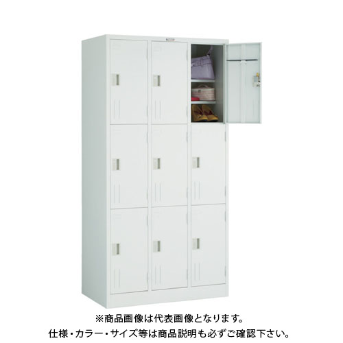 【個別送料2000円】【直送品】 TRUSCO 3段式シューズケース 900X515XH1790 ホワイト WSV9TA