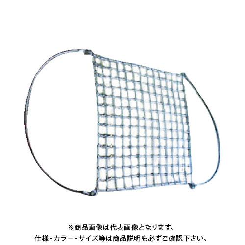 【代表画像 色/サイズ等注意】 【運賃見積り】【直送品】ニッコウ ワイヤモッコ マスク型 網目120mm WRMA3-1.8-120