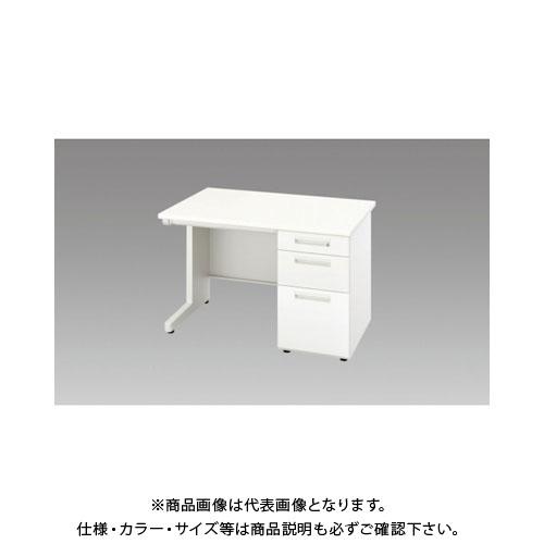 【運賃見積り】【直送品】 ナイキ 片袖デスク XED117B-WH