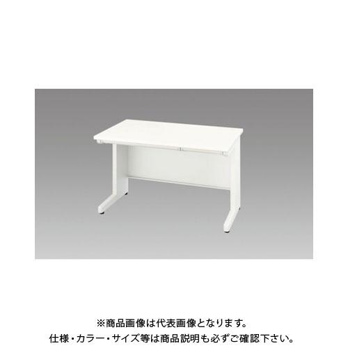 【運賃見積り】【直送品】 ナイキ 平デスク 間口1200×高さ700mm ホワイト XED127F-WH