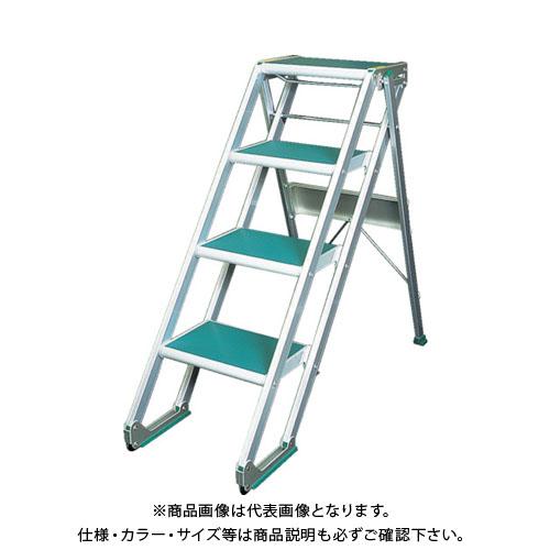 【個別送料1000円】【直送品】 MT MTステップX型4段 X404
