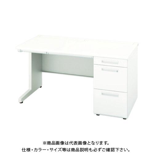 【運賃見積り】【直送品】 ナイキ 片袖デスク XEHH107G-WH