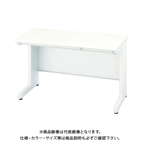 【運賃見積り】【直送品】 ナイキ 平デスク 間口1200×高さ720mm ホワイト XEHH127F-WH