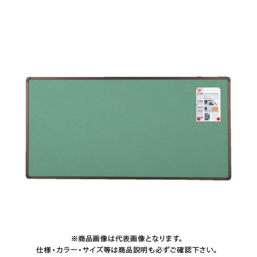 【直送品】 TRUSCO ブロンズ掲示板 900X1800 グリーン YBE-36SGM