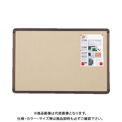 【直送品】 TRUSCO ブロンズ掲示板 600X900 ベージュ YBE-23SBM