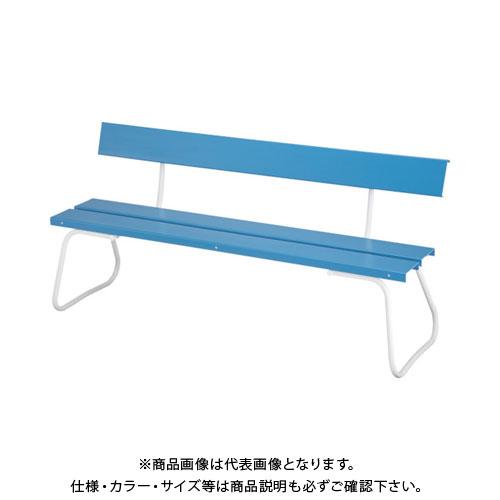 【運賃見積り】【直送品】 コンドル (屋外用ベンチ)樹脂ベンチ 背付ECO NO1500 YB-94Z-PC