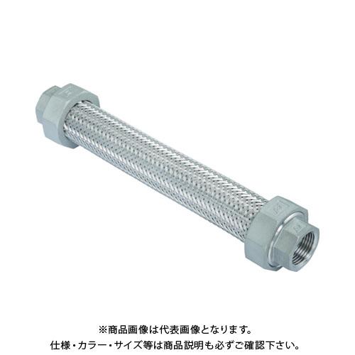 ゼンシン フレキシブルメタルホース(非溶接・ユニオン型・ステンレスタイプ) Z-10000NW-25-500