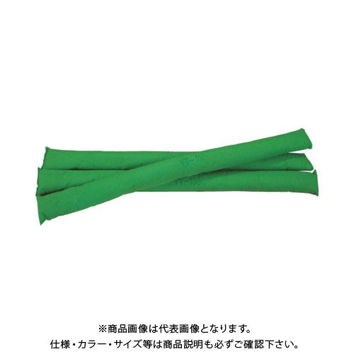 【運賃見積り】【直送品】 JOHNAN 油吸収材 アブラトール チューブ Φ6.6×100cm グリーン YT-100G