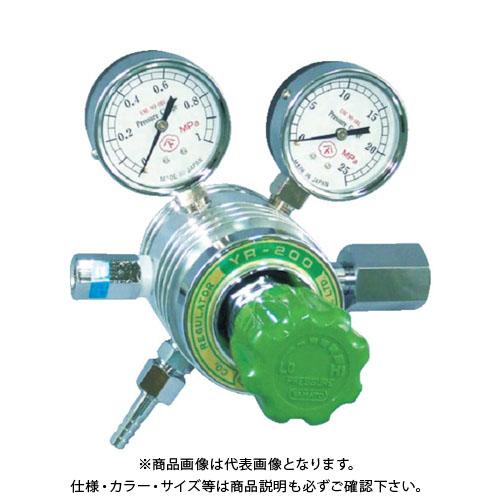 ヤマト フィン付圧力調整器 YR-200 YR-200-R-A-11HG03-N2O