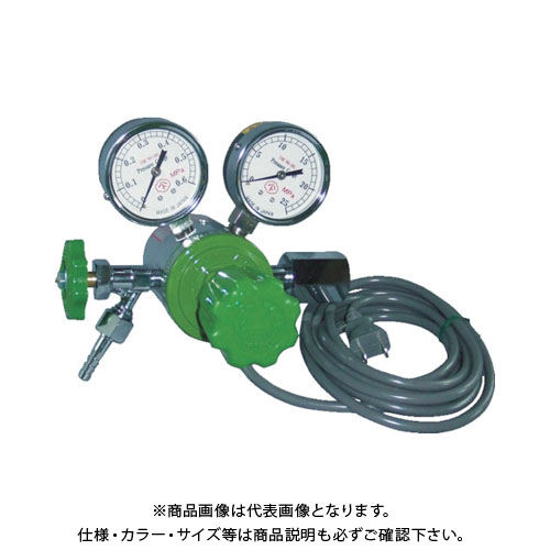 ヤマト ヒーター付圧力調整器 YR-507V-2 YR-507V-2-11-CO2