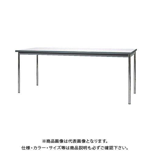 【直送品】 ヤマダ ウレタン一体成形エッジミーティングテーブル 1800X450 YU-K1845