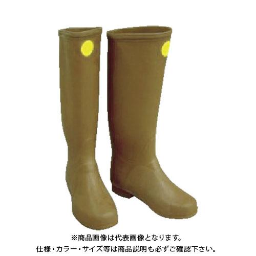 【個別送料1000円】【直送品】YOTSUGI 絶縁ゴム長靴 25.5CM YS-111-09-04