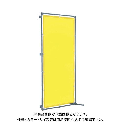 【運賃見積り】【直送品】TRUSCO 溶接遮光フェンス 1015型接続 固定足 青 YF1015SK-B