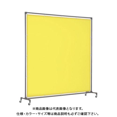 【運賃見積り】【直送品】TRUSCO 溶接遮光フェンス 2015型単体 キャスター 青 YF2015-B