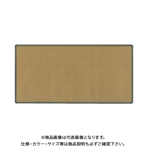【直送品】 TRUSCO コルピタボード マグネット・粘着式両面 900X1800ブロンズ枠 YBK-36PR