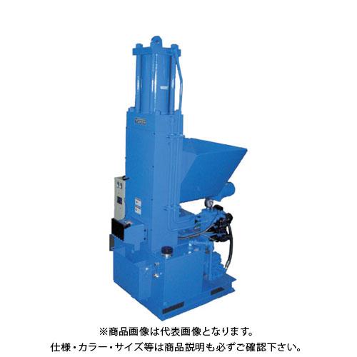 【運賃見積り】【直送品】 油研 自動切屑圧縮機 YK-40V-3-25