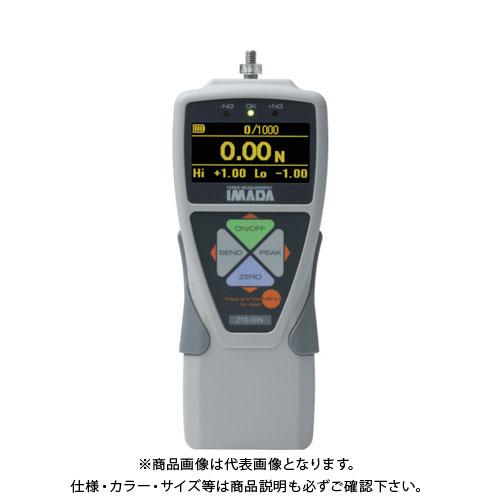 【直送品】イマダ 標準型デジタルフォースゲージ 使用最大荷重100N ZTS-100N