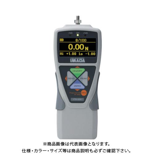【直送品】イマダ 標準型デジタルフォースゲージ(多機能タイプ) 使用最大荷重2500N ZTA-2500N