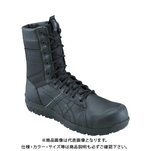 アシックス ウィンジョブCP402 ブラック/ブラック 27.0cm 1271A002.001-27.0