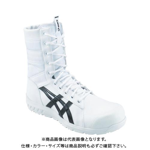 アシックス ウィンジョブCP402 ホワイト/ブラック 27.5cm 1271A002.100-27.5