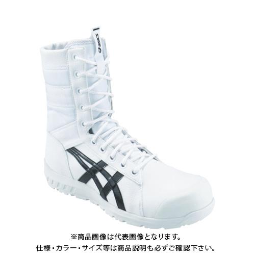アシックス ウィンジョブCP402 ホワイト/ブラック 28.0cm 1271A002.100-28.0