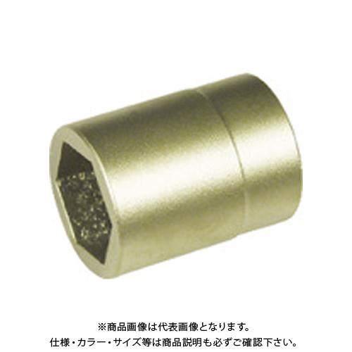 0353818S 防爆6角ソケット差込角3/8インチ用 対辺18mm A-MAG