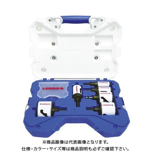 LENOX スピードスロット軸付ホールソーセット 電気設備工事用 600AE 34081600AE