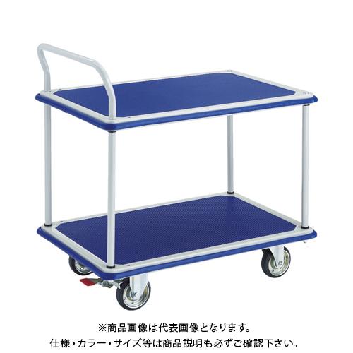 【運賃見積り】【直送品】TRUSCO ドンキーカート 2段式片袖タイプ915×615 S付 304NS