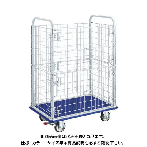 【運賃見積り】【直送品】TRUSCO ドンキーカート 2段金網付 915×615 S付 307WNS