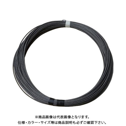 【6月5日限定!Wエントリーでポイント14倍!】TKK MA-650M,MA-650L専用交換ワイヤロープ ワイヤロープ φ5×60M (麻芯6×19) 5X60M MA-650