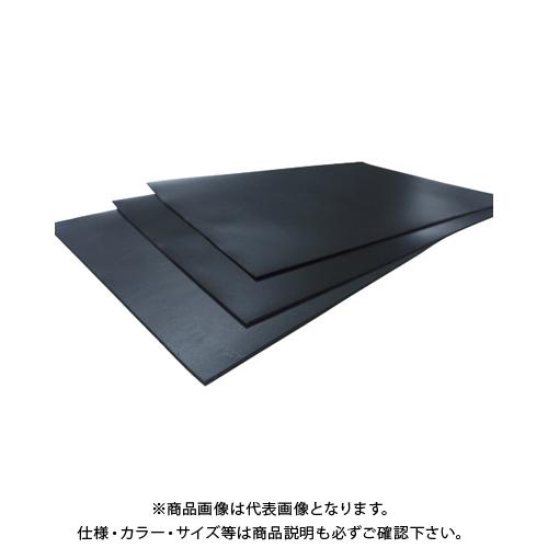 【運賃見積り】【直送品】イノアック マイクロセルポリマーシート PORON 防水シリーズ 厚さ1.0mm 黒 WP24P-1.0:BK
