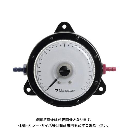 【個別送料2000円】 【直送品】 マノスター 微差圧計 マノスターゲージ 表面形・置針なし WO81FN500D