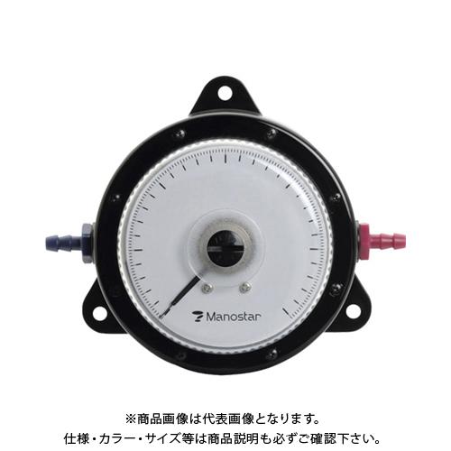 【個別送料2000円】 【直送品】 マノスター 微差圧計 マノスターゲージ 表面形・置針なし WO81FN300D