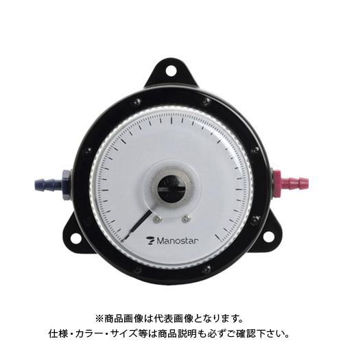 【個別送料2000円】 【直送品】 マノスター 微差圧計 マノスターゲージ 表面形・置針なし WO81FN1E