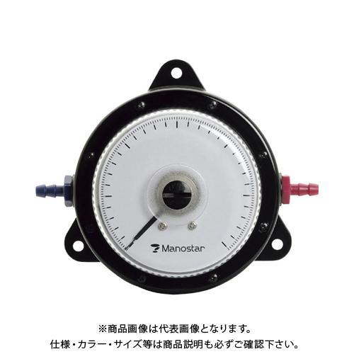 【個別送料2000円】 【直送品】 マノスター 微差圧計 マノスターゲージ 表面形・置針なし WO81FN1000D
