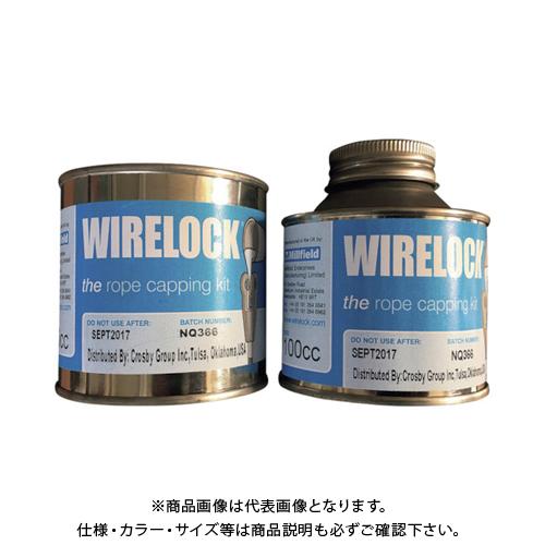 【運賃見積り】【直送品】クロスビー ワイヤロック W416-7-1000