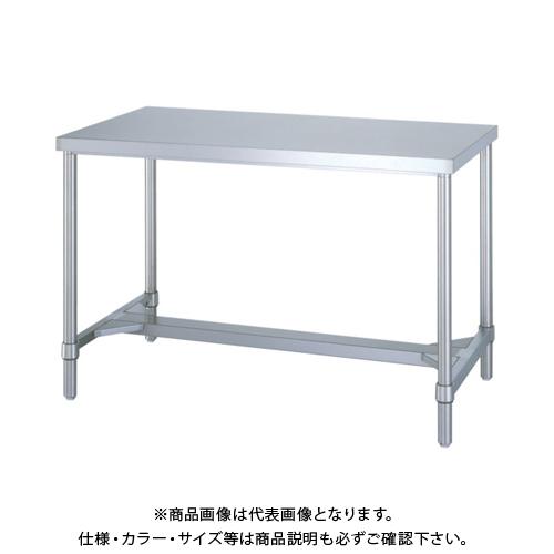 【運賃見積り】 【直送品】 シンコー ステンレス作業台H枠 WHN-9075