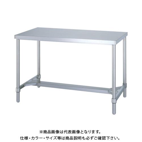 【運賃見積り】 【直送品】 シンコー ステンレス作業台H枠 WHN-18090